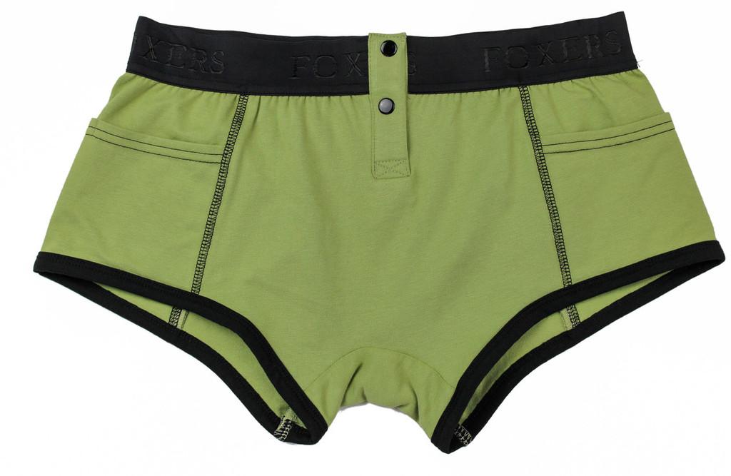Sage Green Tomboy Boxer Brief | Foxers