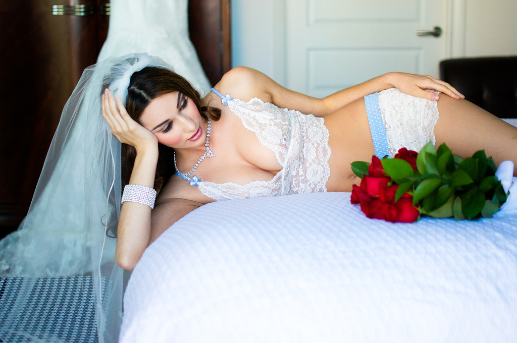 Bridal Lingerie Lace Camisole and Panties