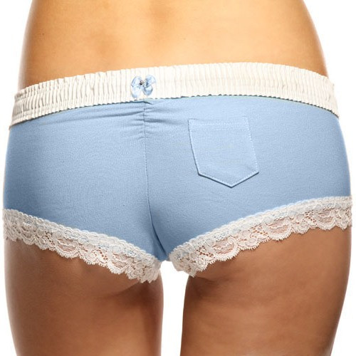 Light Blue Boyshort