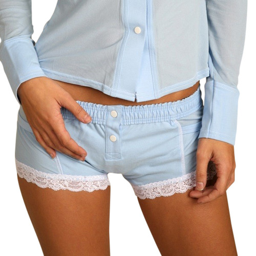 Light Blue Women's Boxer Brief