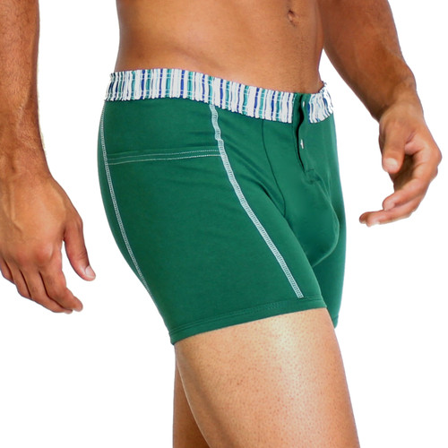 Green Boxers for Men