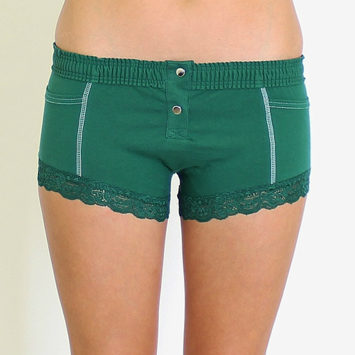 Forest Green Boxer Brief