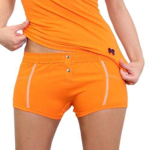 Tomboy underwear - orange girls boxers