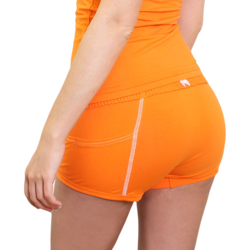 Girls Orange Boxer short