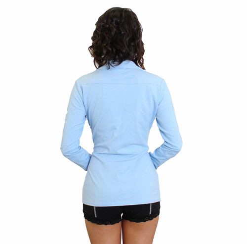 Sexy Boyfriend Shirt | Light Blue