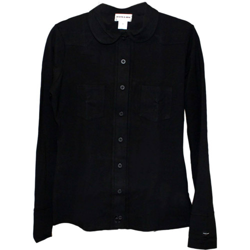 Black Equestrian Lounge Shirt