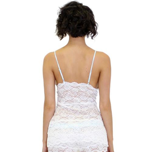 White Lace Camisole Nightie