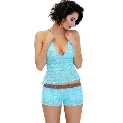 Waist Length Lace Camisole