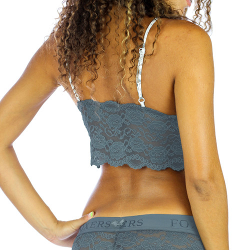 Gray Lace Camisole