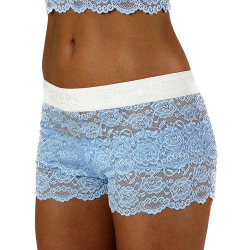 Something Blue Lace Boxers