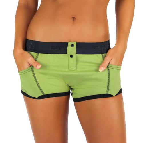Sage Green Tomboy Boxer Brief | Foxers (FXBBL-6801L)
