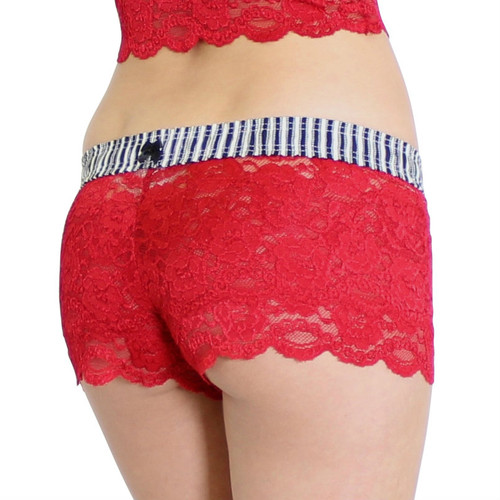 Red Lace Boxer Filmstrip FOXERS Band