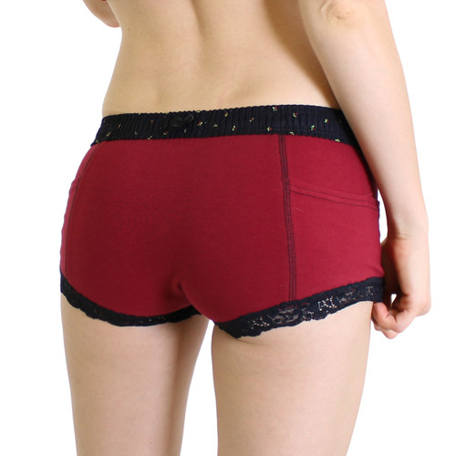 Cranberry Red Boxer Brief