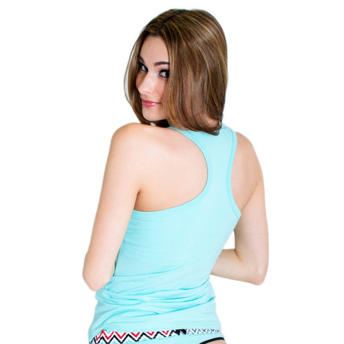 Light Blue Women's Tank Top