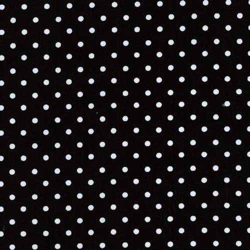 Black Polka Dot Waistband Swatch