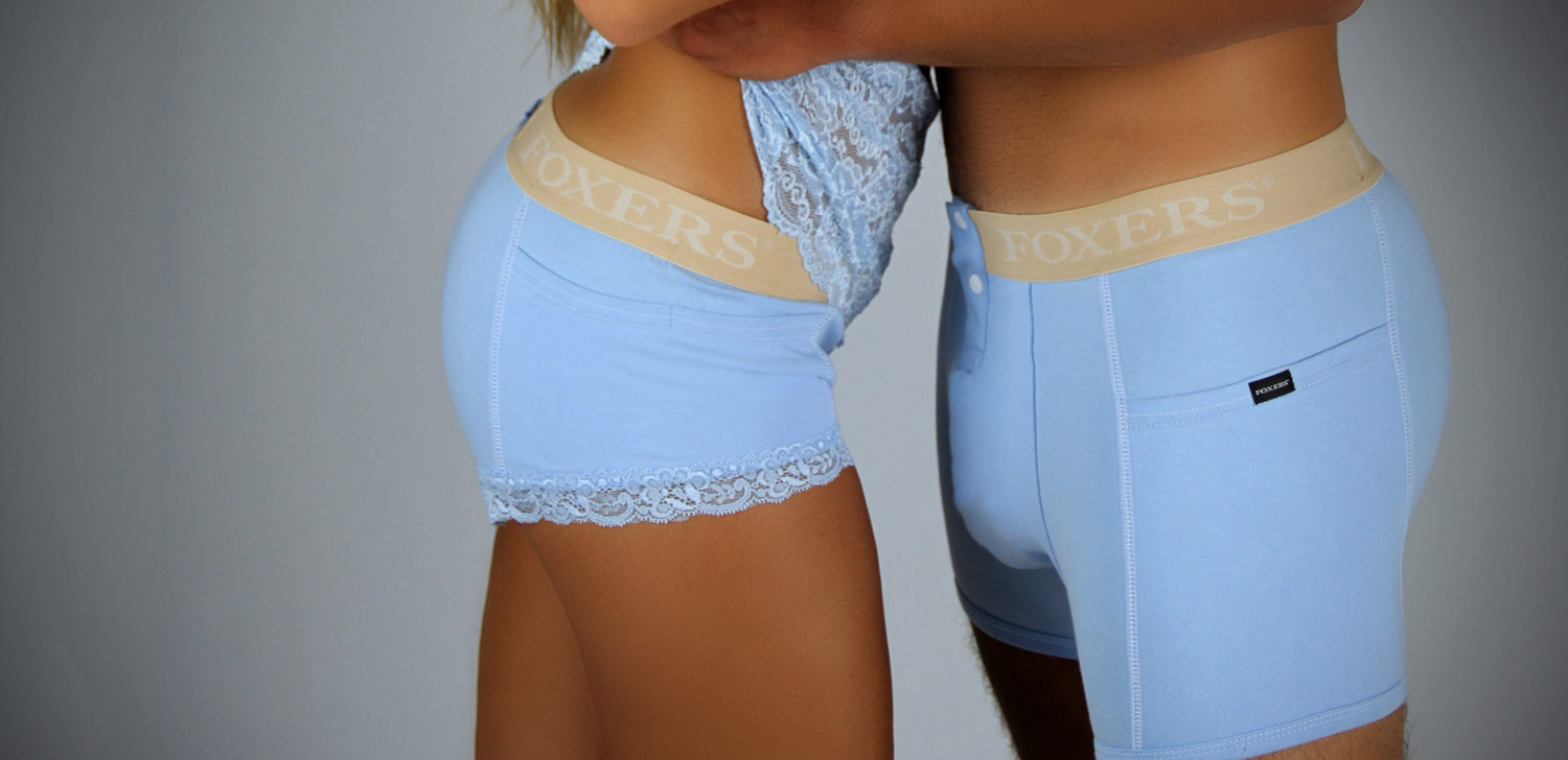 Matching His and Hers Boxer Briefs