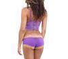 Purple Lace Crop Top Camisole