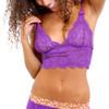 Grape Lace Bralette Camisole
