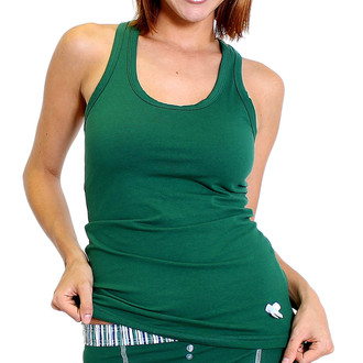 Womens Green Tank Top - Loungewear, Sleepwear or Athleisure!