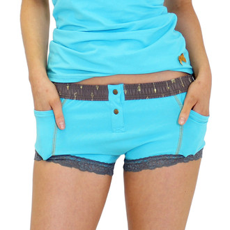 Turquoise Women's Boxer Brief