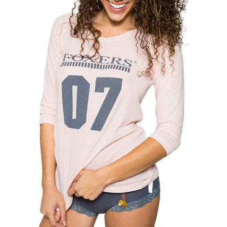 Pink 3/4 Sleeve Baseball T-Shirt for Women