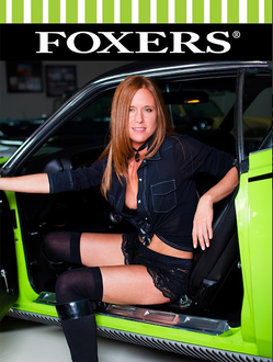Classic Beauty Tracy Chambers FOXERS Black Lace and Western 11X17 glossy poster