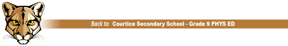 Courtice Secondary School - Grade 9