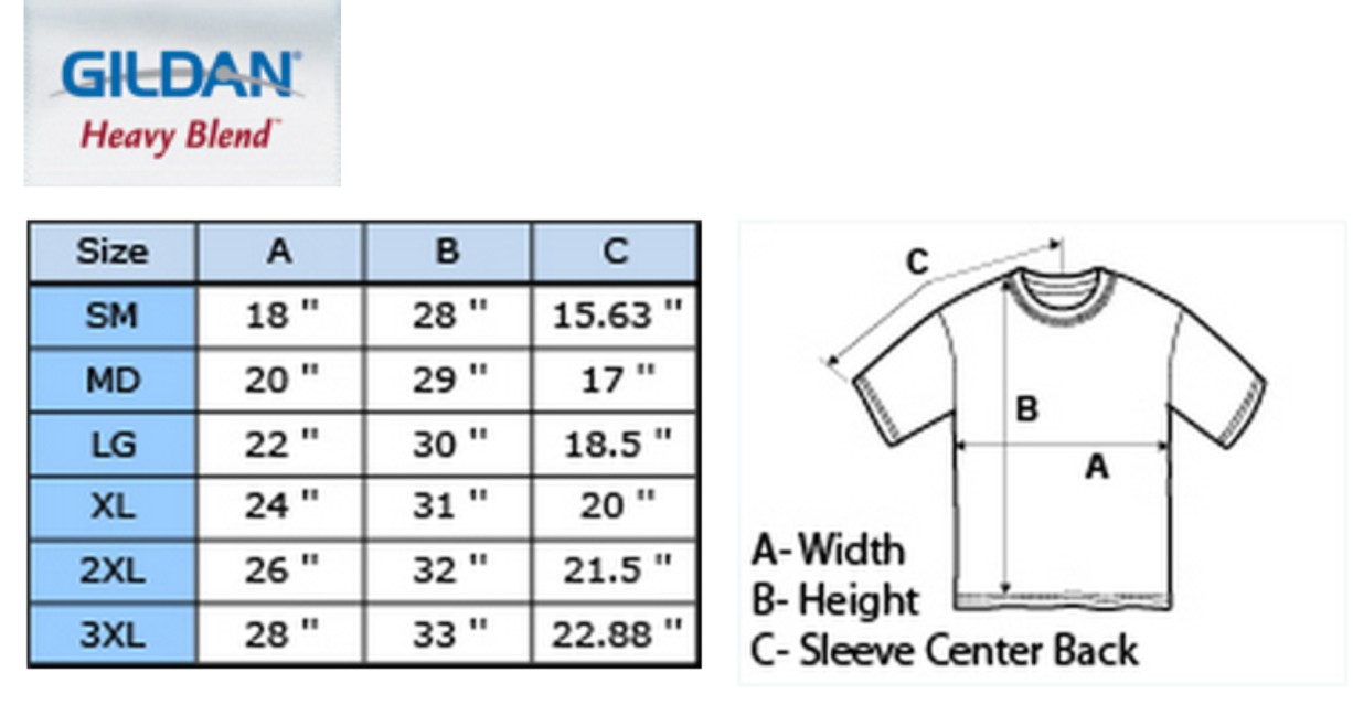 Image result for sizing chart mens t-shirt