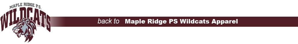 Maple Ridge Ps Wildcasts Apparel