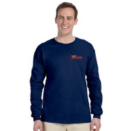 SSC Gildan Unisex Ultra Cotton Long Sleeve T-shirt - Navy (SSC-082-NY)