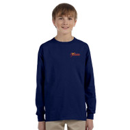 SSC Gildan Youth Ultra Cotton Long Sleeve T-shirt - Navy (SSC-047-NY)