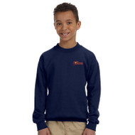 SSC Gildan Youth Crewneck Sweatshirt - Navy (SSC-048-NY)