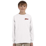 SSC Gildan Youth Long Sleeve T-shirt - White (SSC-147-WH)