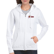SSC Gildan Heavy Blend Adult Full-Zip Hooded Sweatshirt - White (SSC-087-WH)
