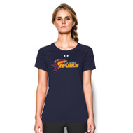 SSC Under Armour Women's Short Sleeve Locker T - Navy