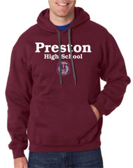 PHS Gildan Premium Fleece Hooded Sweatshirt - Maroon