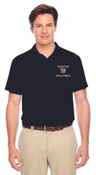 CSS Team 365 Men's Performance Charger Polo - Black