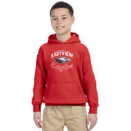 EPS Gildan Classic Fit Pullover Youth Sweatshirt - Red