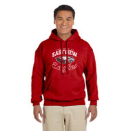 EPS Gildan Classic Fit Pullover Adult Sweatshirt - Red