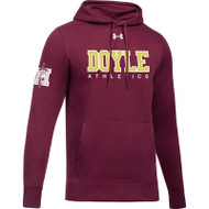 MDC Under Armour Mens Hustle Fleece Hoody - Maroon (MDC-001-MA)