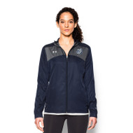 OLL Under Armour Women's Futbolista Shell - Navy