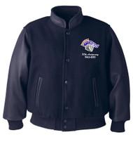 Melton Leather Jacket - Adult