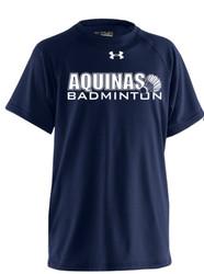 STA Badminton Under Armour Men's Locker T Short sleeve - Navy