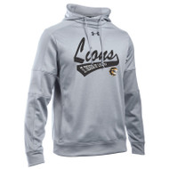 STL Under Armour Mens Novelty Fleece hoodie - Grey