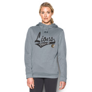 STL Under Armour Womens Novelty Armour Fleece Hoody - Grey
