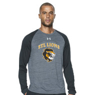 STL Under Armour Mens Novelty Locker T Long Sleeve - Black