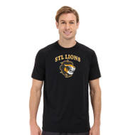 STL Under Armour Mens Short Sleeve Locker T - Black