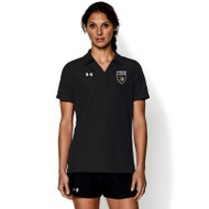 STL Under Armour Womens Performance Polo T-Shirt - Black