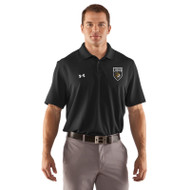 STL Under Armour Mens Performance Polo T-Shirt - Black