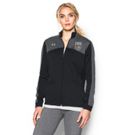 STL Under Armour Womens Futbolista Jacket - Black
